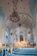 Interior of Blue Church, Bratislava