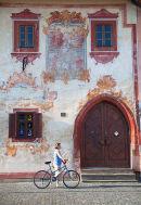 Decorative house in Radnicne Square, Bardejov
