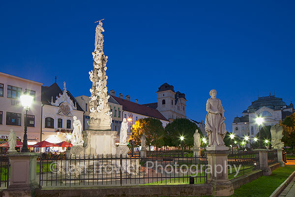Plague Column, Kosice