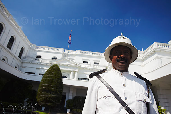 Porter at Mount Lavinia Hotel, Colombo, Sri Lanka