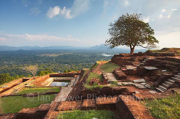 View from summit of Sigiriya