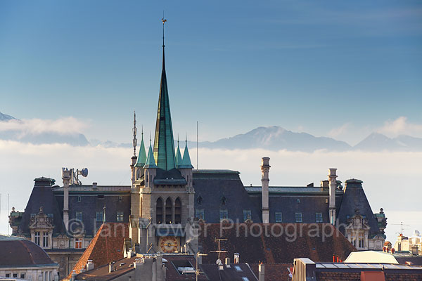 St Francois Church, Lausanne