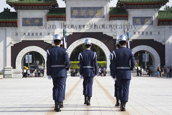 Changing Of The Guard, Martyrs' Shrine, Taipei