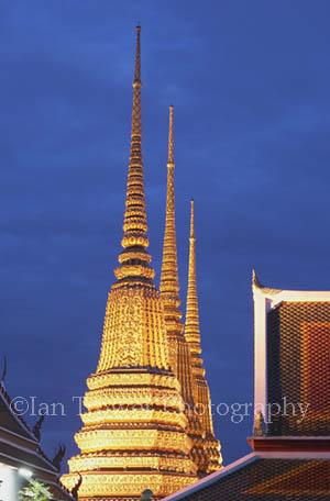 Wat Pho At Night, Bangkok