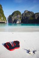 "Flip Flops on ""The Beach"", Ko Phi Phi Leh"