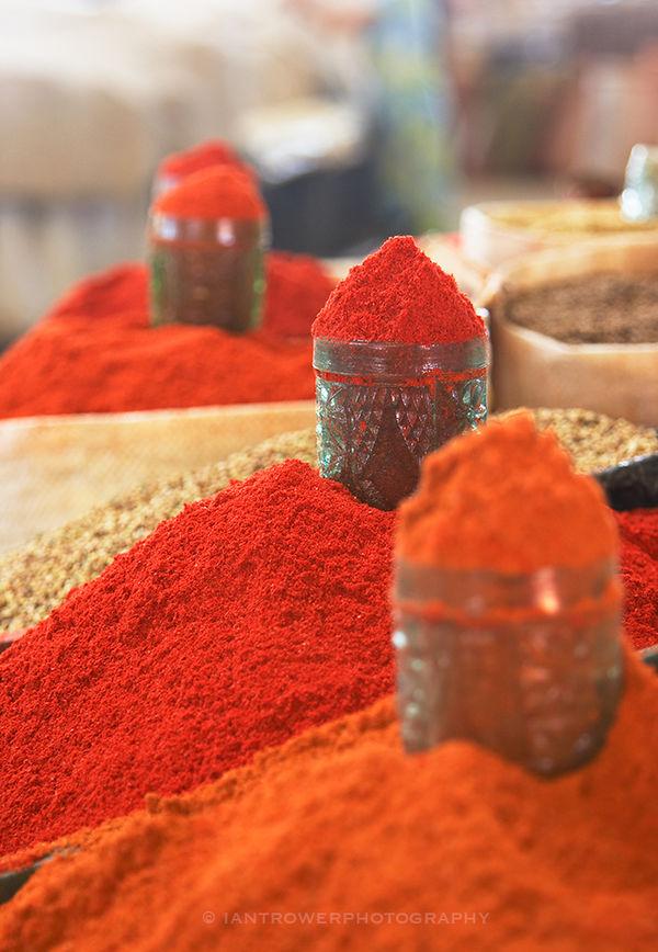 Spices, Chorsu Bazaar, Tashkent