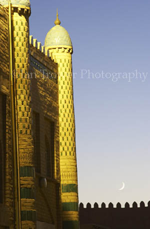 Towers And The Moon, Khiva