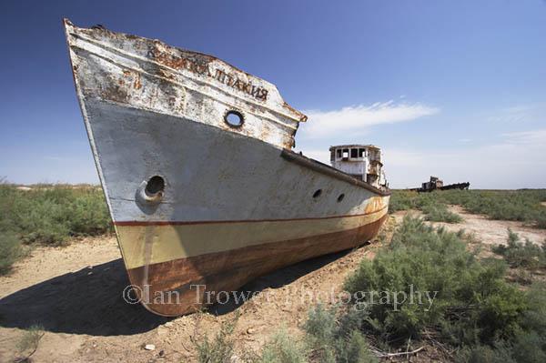 Boat Graveyard, Aral Sea, Moynaq