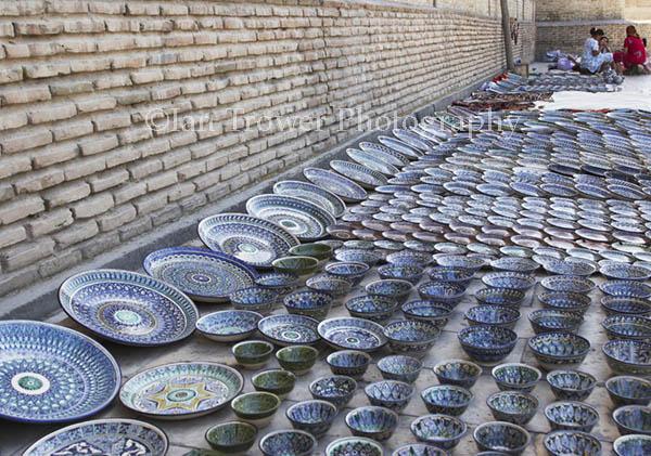 Plate Vendor, Bukhara