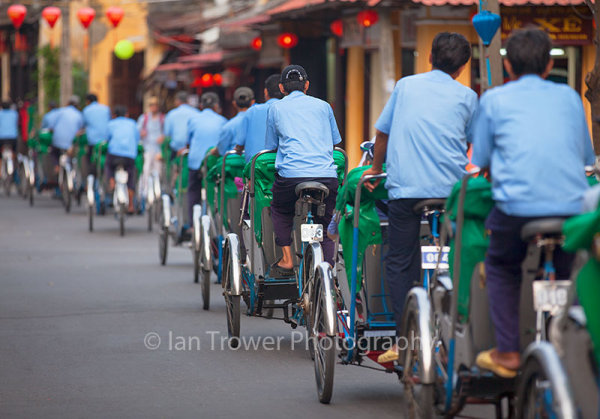 Cyclo drivers, Hoi An