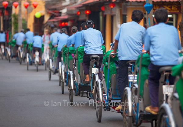 Cyclo drivers, Hoi An
