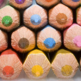 coloured pencil points