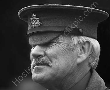 1st. The Sergeant Major