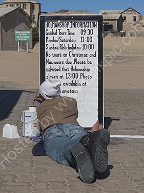 2nd. Kolmanskoppe signwriter
