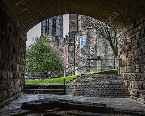 2nd. Underneath the arches