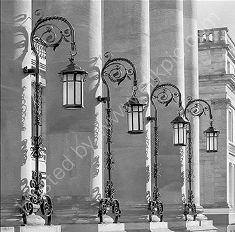 3rd. Theatre Royal lamps