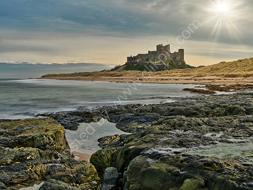 3rd. Bamburgh in a different light