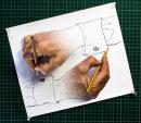 HC. Drawing hands