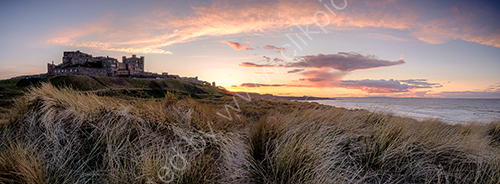 HC. Bamburgh sunset