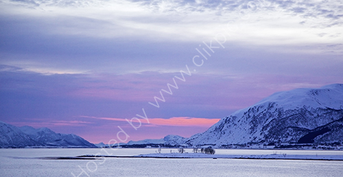 HC. Norway midwinter light
