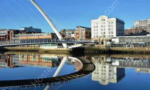 Quayside reflections