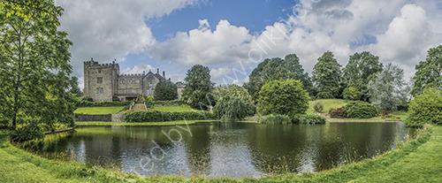 Sizergh Castle panorama
