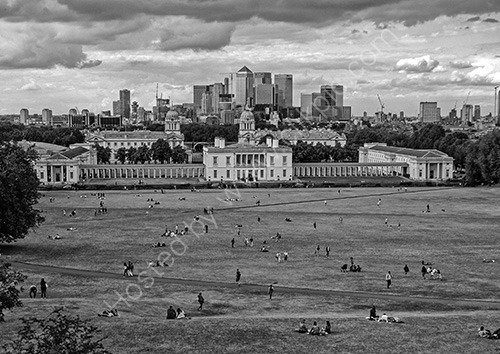 3rd. View from Greenwich Observatory
