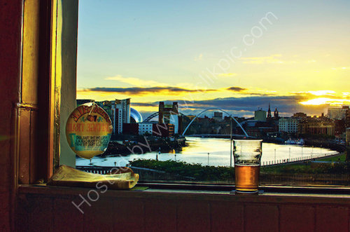 View from the Free Trade Inn