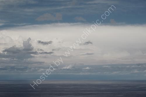 Subtle sea and sky