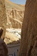 View of part of the Valley of the Kings