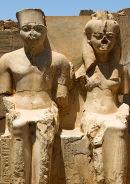 Statue of Tutankhamun and Ankhesenamun