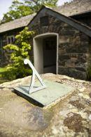 A churchyard sundial