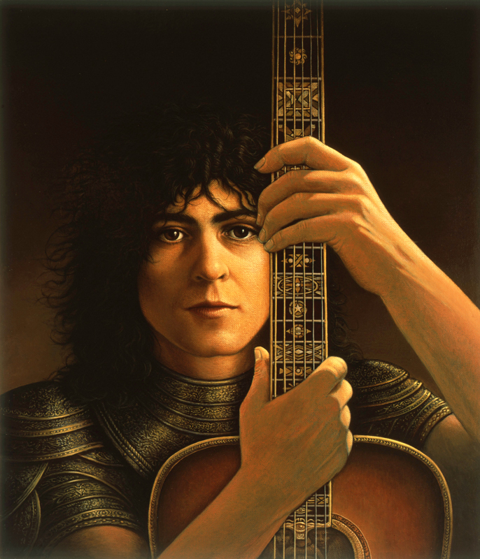 Marc Bolan Acoustic Warrior