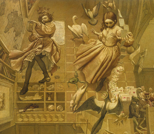 Alice in Wonderland [Detail]