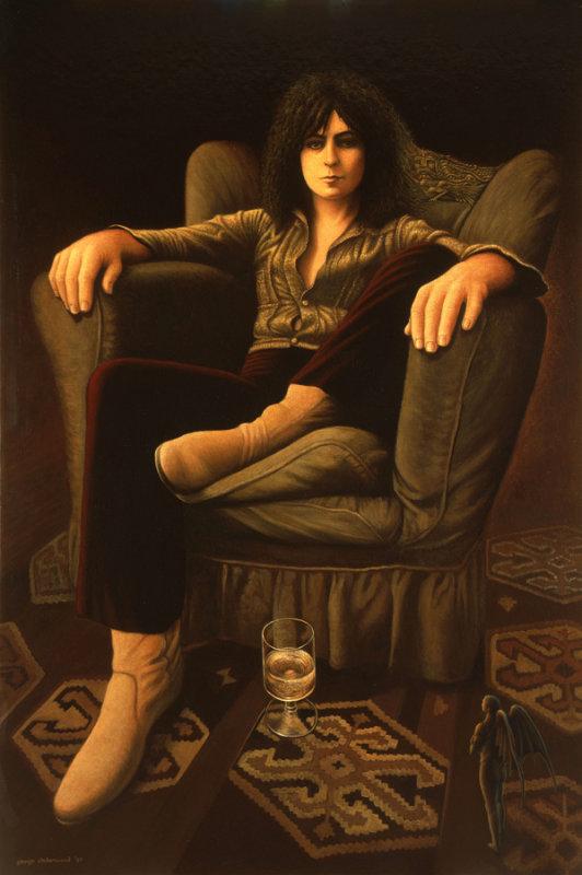 Marc Bolan - Reclining