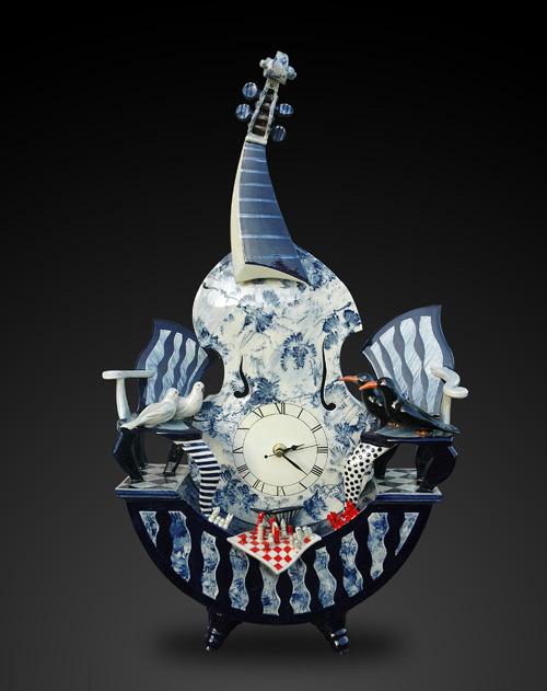 Viola Clock