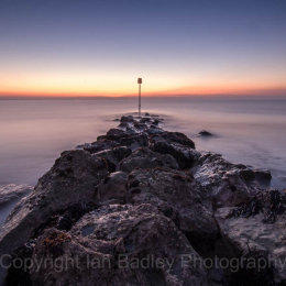 Hengistbury Head at dawn, Dorset, England