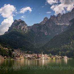 Lake view, Dolomites, Italy