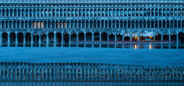 St Mark's square reflection, Venice, Italy