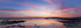 Compton Bay at twilight, Isle of  Wight, England