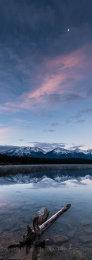 Canada, Jasper National Park, Twilight before dawn