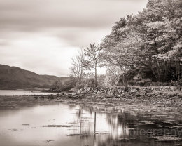 Tranquil waters, Argyll, Crinan, Scotland