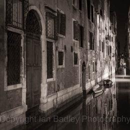 Italy, Venice, Still canal
