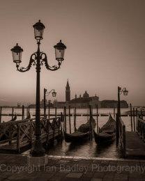 Italy, Venice, Dawn over San Georgio