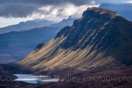 Scree slopes, Totternish,  Isle of Skye, Scotland