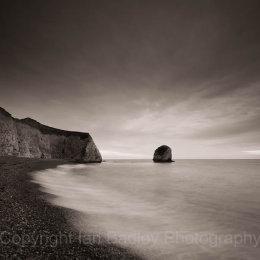Freshwater bay at dusk, Isle of Wight, England