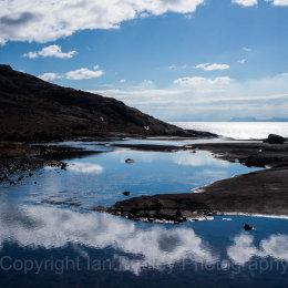 Natural infinity pool, Loch Coruisk,  Isle of Skye, Scotland