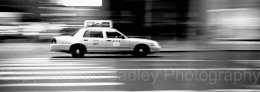 Taxi in New York, USA