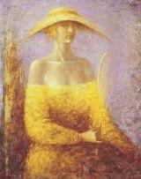 Woman in Yellow