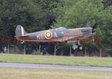 "Spitfire Mk1a X4650 at Biggin Hill, part of  the 75th anniversary of the ""Hardest Day"" in the Battle of Britain."